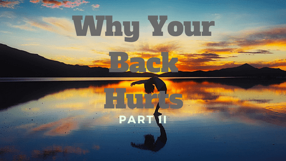 10 Reasons Your Back Hurts (And What To Do About It) Part 2